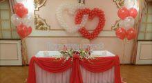 Оформление свадьбы воздушными шарами в Москве недорого