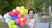 Фигуры из шаров на свадьбу