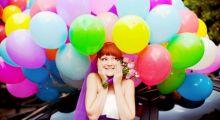 Надувные шары на свадьбу