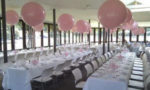 оформление большие шары на свадьбу в Москве