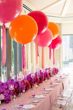 украшение большие воздушные шары на свадьбу купить