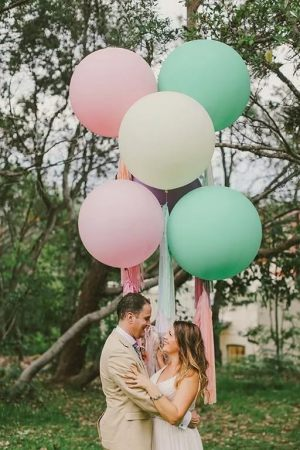 большие шарики на свадьбу в Москве