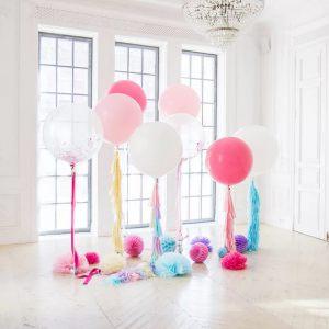 украшение большие шары на свадьбу недорого