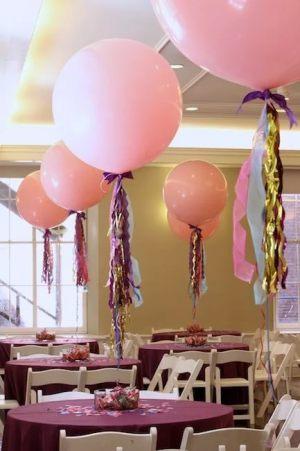 оформление большие гелиевые шары на свадьбу купить