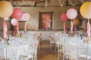 украшение большие воздушные шарики на свадьбу купить