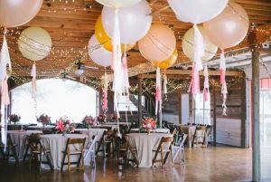 большие шарики на свадьбу недорого