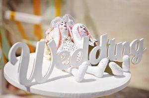 Объемные надписи для свадебной фотосессии