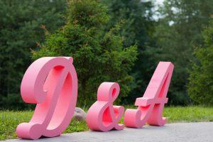Буквы для украшения фотозоны