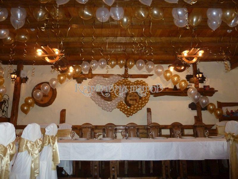 Оформление кафе на свадьбу тканью фото