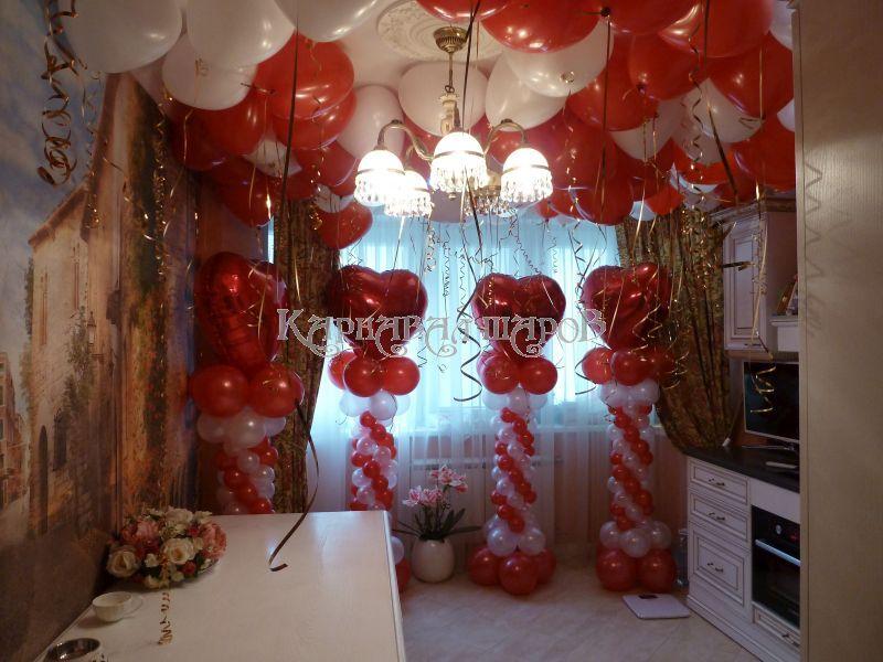 оформление комната невесты
