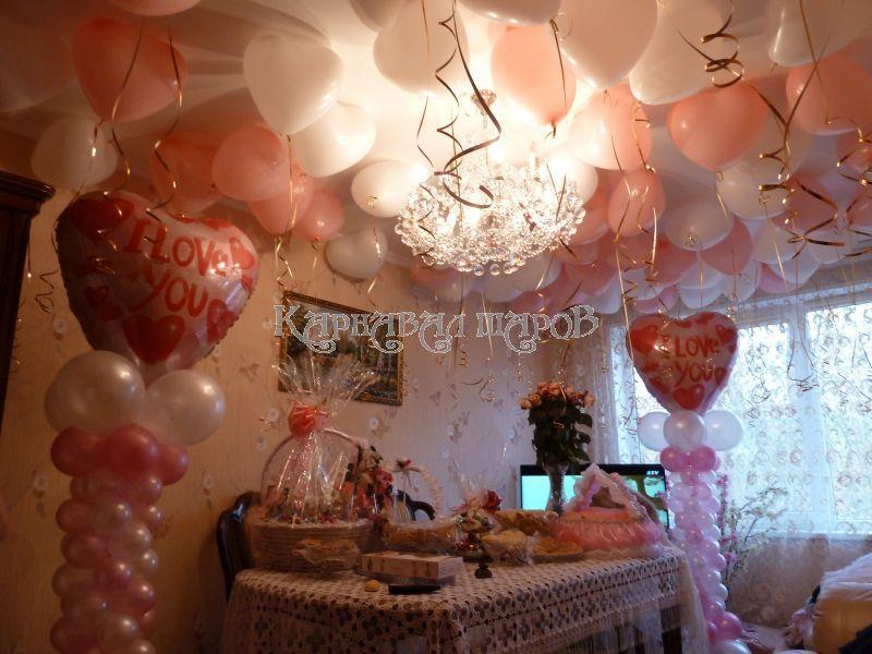 оформление комната на свадьбу