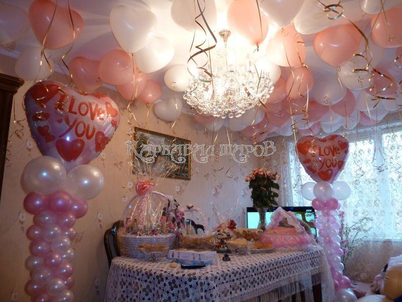 украшение комнаты невесты на свадьбу