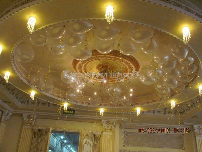 Украшение комнаты на свадьбу для выкупа