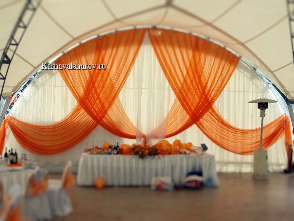 украшение шатров на свадьбу