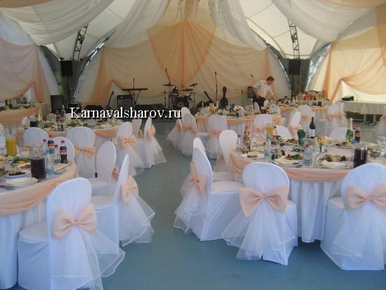 оформление шатров на свадьбу