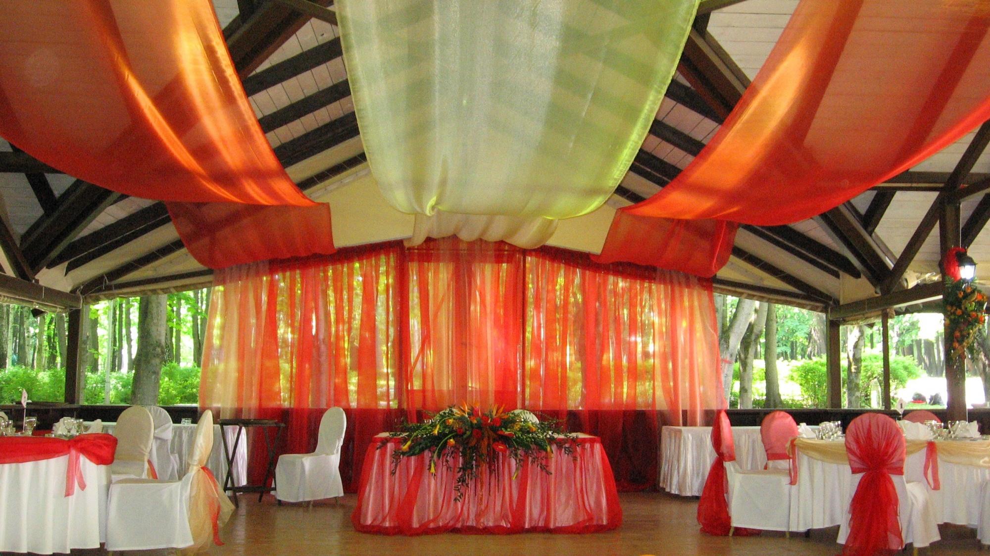 оформление шатра на свадьбу цена