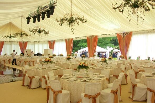 оформление свадебных шатров фото