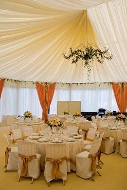 оформление свадебных шатров
