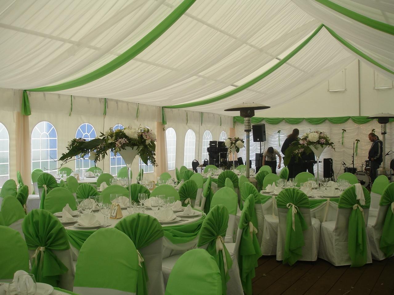 декор шатров на свадьбу