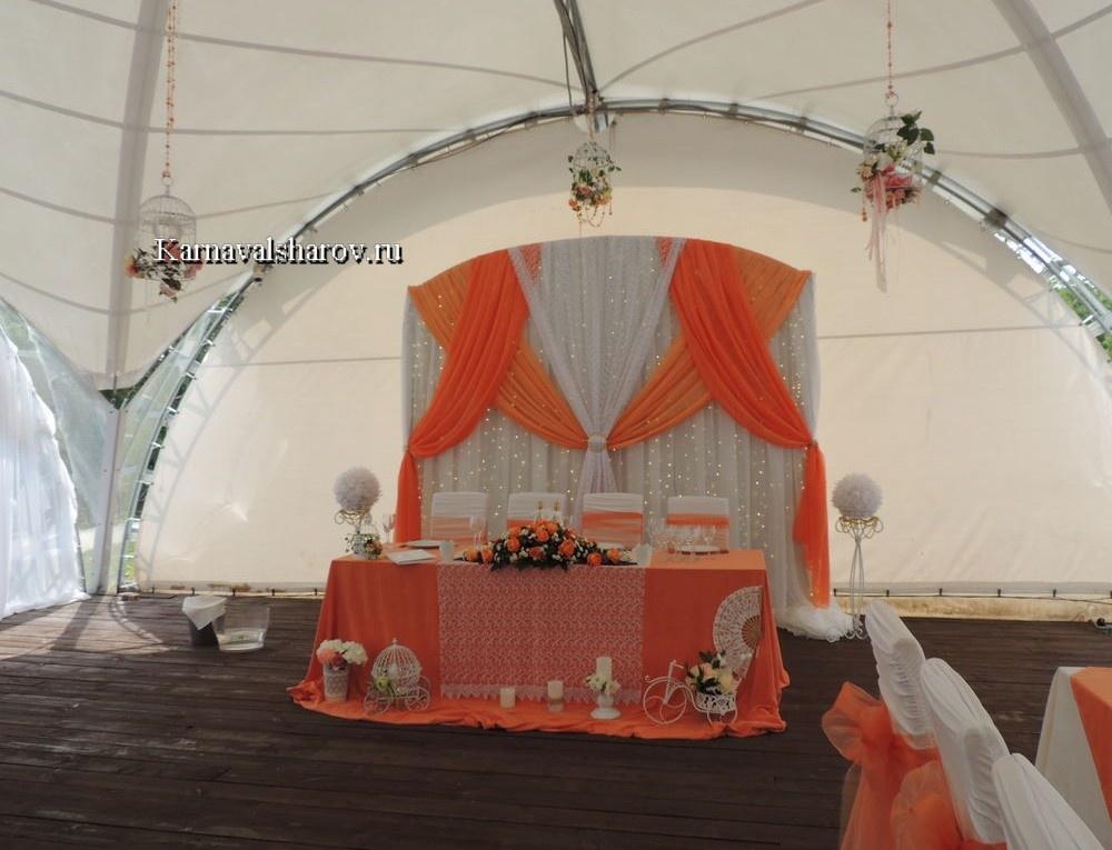 свадебный шатер шенонсо