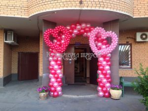 Арка из шариков на выкуп невесты
