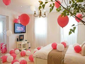 Оформление квартиры шарами на выкуп невесты