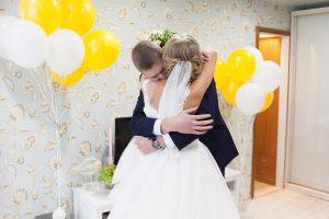 Украшение квартиры воздушными шариками на выкуп невесты