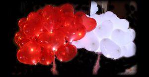 светящиеся воздушные шары недорого