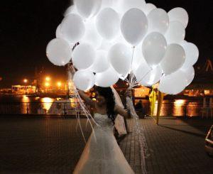 светящиеся гелиевые шары оригинально