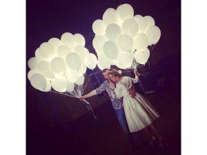 светящиеся воздушные шары в Москве