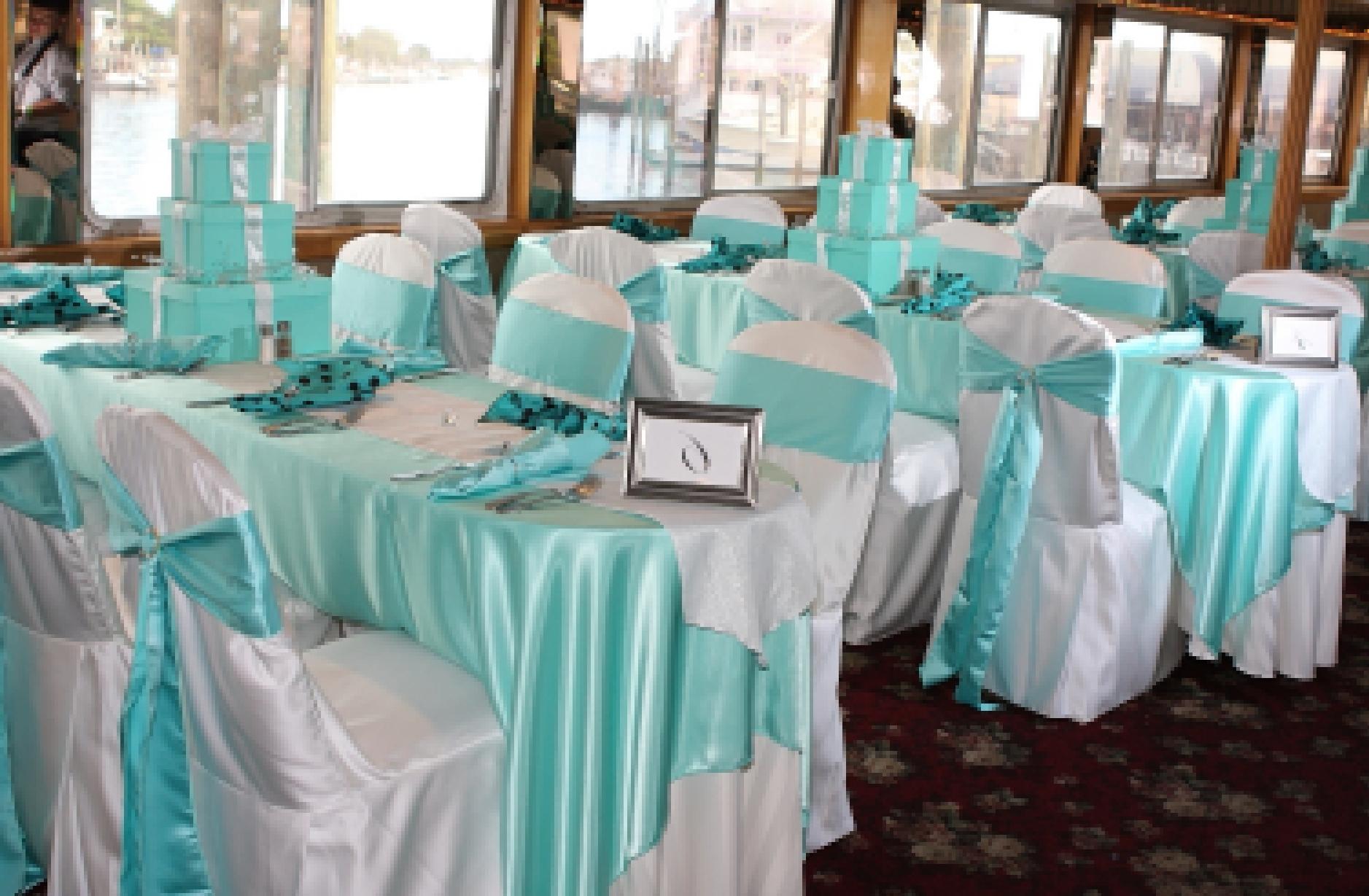 Цвет свадьбы аквамарин