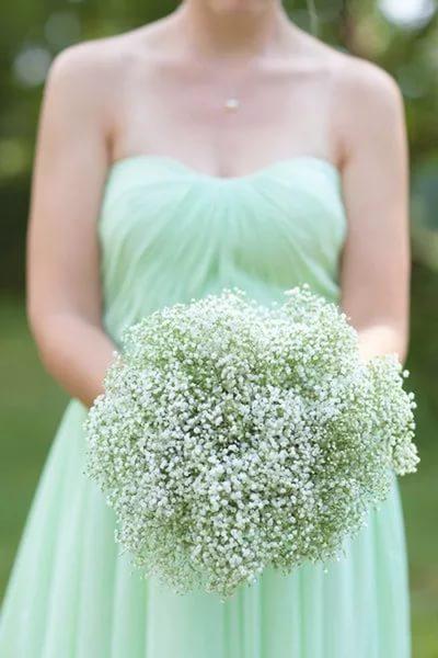 Свадьба в ментоловом цвете