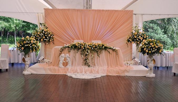 Свадьба в терракотовом цвете
