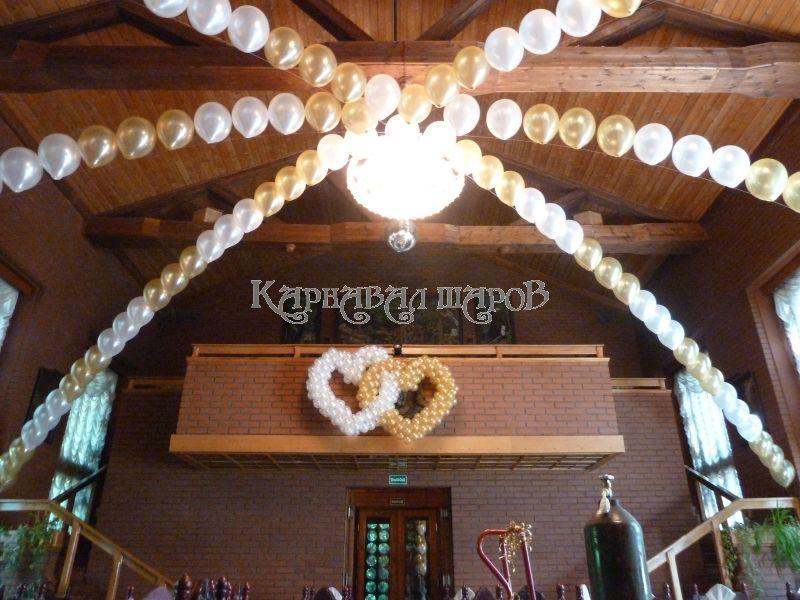 Декор ресторана на свадьбу тканью