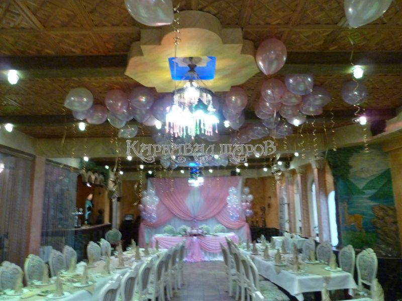 Оформление ресторана на свадьбу фото
