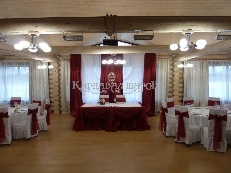 Оформление ресторана на свадьбу шарами цены
