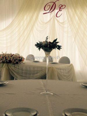 Оформление банкетного зала на свадьбу варианты