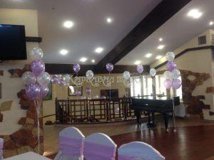 Оформление свадебного зала варианты
