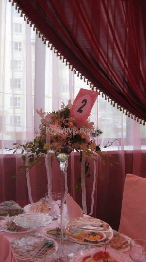 Декор зала на свадьбу варианты