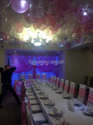 Декор свадебного зала стили